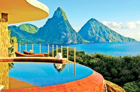 Exciting Vacations planned our trip to Jade Mountain Resort, St. Lucia http://excitingvacations.net