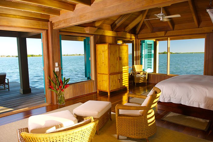 Cayo Espanto's 5-star villas offer seclusion and luxury