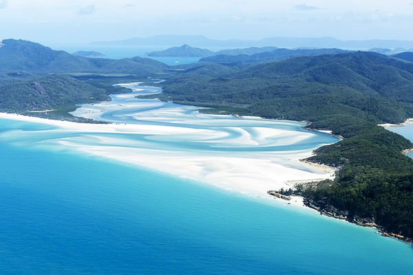 Whitsunday Islands in the Great Barrier Reef
