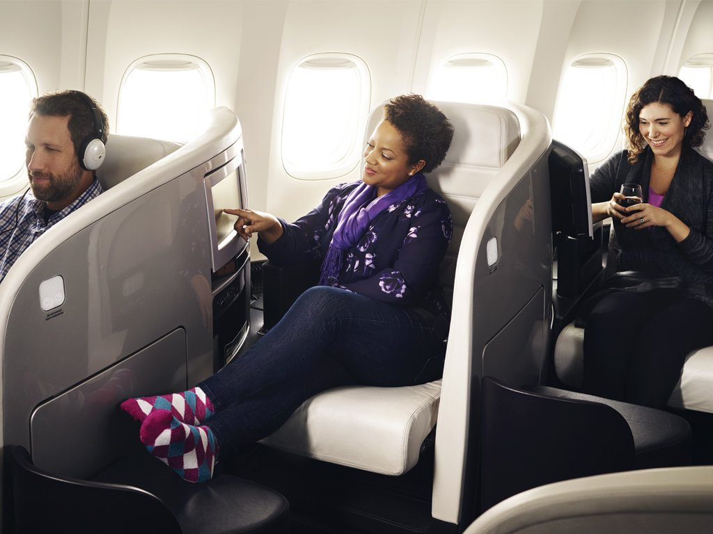 Air New Zealand Business Premier is available on 777-300 and 777-200 aircraft