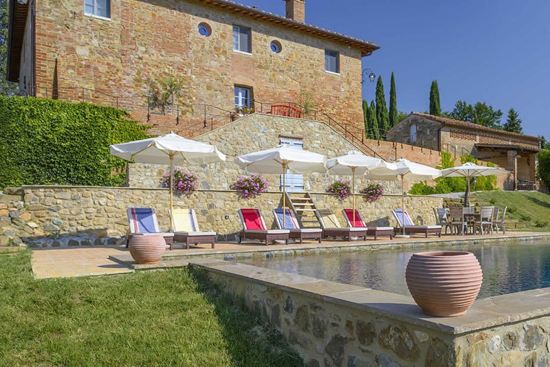 Locanda dell' Artista in Tuscany, Italy, invites visitors to experience authentic Tuscan life in lovingly-wrought luxury