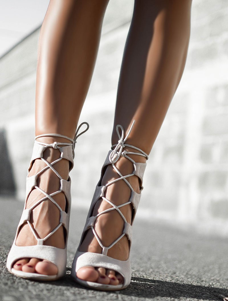Cute as they are, high-heels don't pair well with cobblestones.