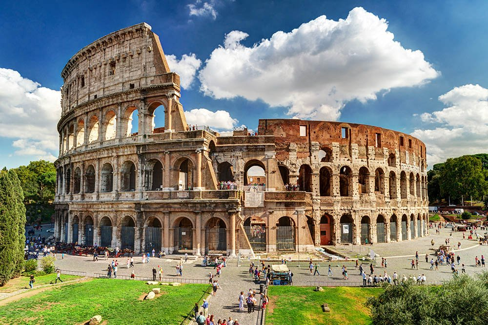 Schedule a Colosseum tour that allows you to skip the line.