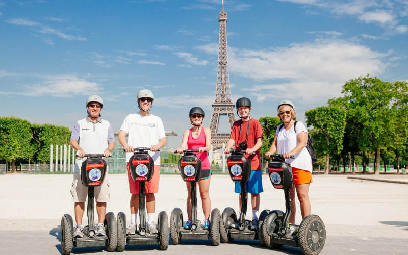 Try Fat Tire's Segway tour of Paris - image from Fat Tire