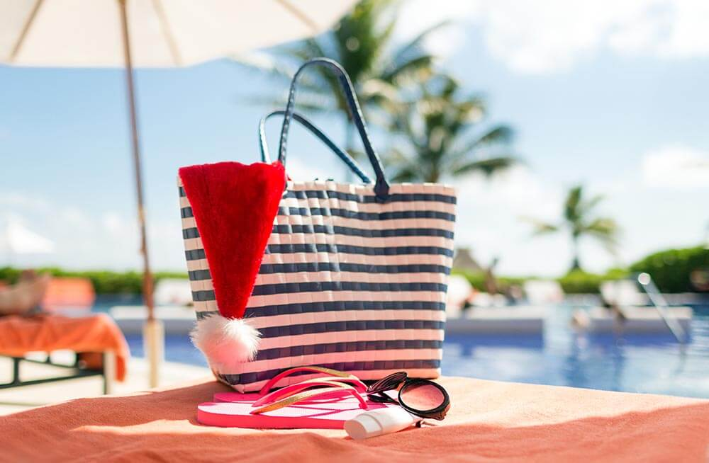 Kick back with a pool-side holiday.