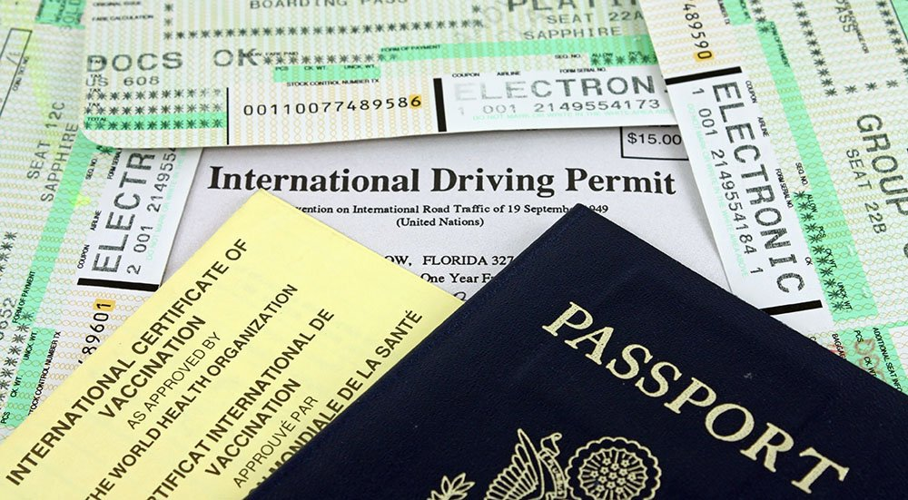 Which travel documents do I need for my international trip, and how do I protect them?