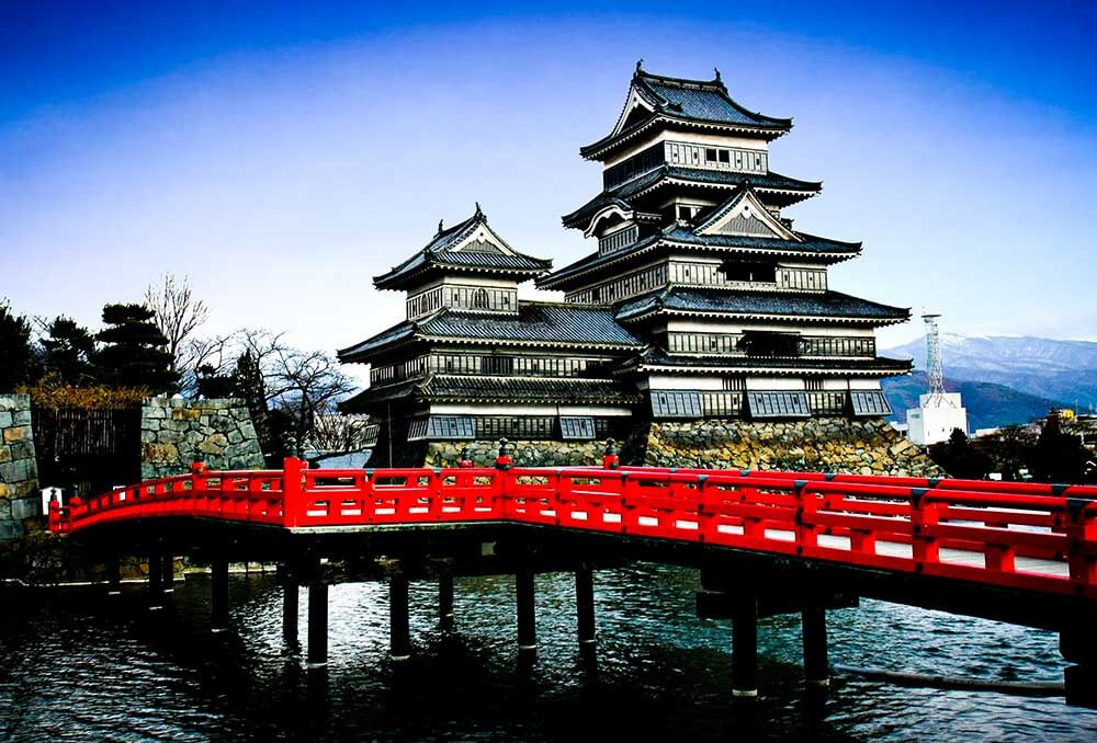 Matsumoto Castle in Japan is a stunning and exotic travel destination.