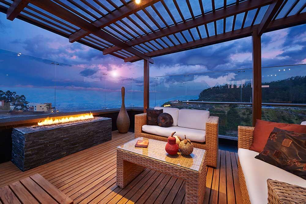 Do stunning views help you to relax?